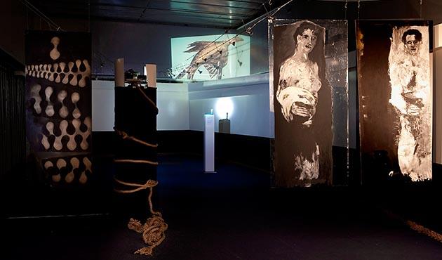Anna Wiesinger | Ausstellungsansicht | Cap San Diego